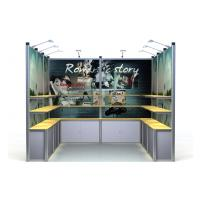 China Aluminum Exhibition Booth Display Stand , 3*3m Modular Trade Show Displays on sale