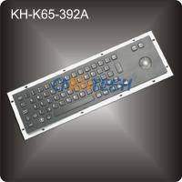 Wholesale Black metal industrial computer keyboard from china suppliers