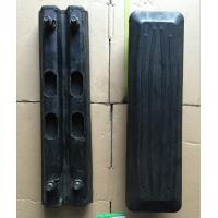 Quality Wear Resistant Caterpillar Excavator Spart Parts Rubber Track Pad Without Smell for sale