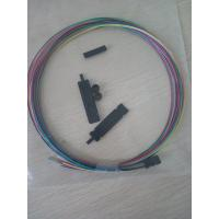 Quality 12 core ribbon fiber Optic Buffer Tube Fan Out Kit 1m with 0.9mm buffer for sale