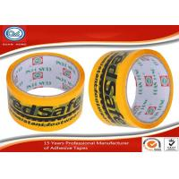 Wholesale Shipping BOPP Hand Printed Adhesive Tape 36mic ~ 90mic Thickness from china suppliers