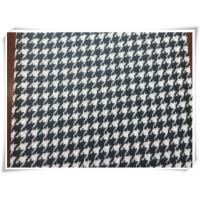 Wholesale Hound Tooth Wooly - Bully Puppy Tooth Tartan Wool Fabric For Winter from china suppliers