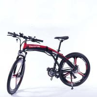 Wholesale Durable 26 Inch Folding Electric Bike 36v 250w Battery Brushless Motor from china suppliers