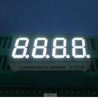 Wholesale RoHS Four Digit 7 Segment  Common Cathode Led Display White 0.36 Inch from china suppliers