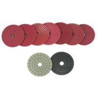 Wholesale Bright Red Diamond Dry Wet Polishing Pads from china suppliers