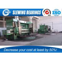 Quality Komatsu PC350-6 Slewing Ring Bearing , External Ring Gear With Surface Quench Hardening for sale
