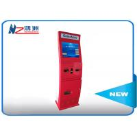 Wholesale Free standing intelligent Ticket Vending Kiosk with camare / ticket vending dispenser from china suppliers