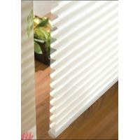 Wholesale Manual 100% polyester Shangri-la roller blinds for windows with aluminum headrail,toprail from china suppliers