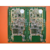 Wholesale ROHS Halogen free ENIG 6 layer pcb Line 3mil , 0.2 mm - 4.0mm'( 8 mil - 160 mil ) from china suppliers