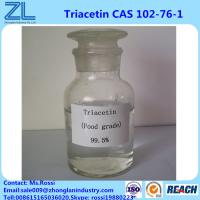 Wholesale Efficient Plasticizer Triacetin(Glycerol Triacetate) Cas 102-76-1 Food Grade With FDA Approval from china suppliers