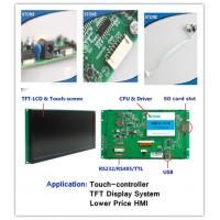 Wholesale HMI RS232 LCD Module With Touch Controller and PCB Adapter & CPU Drive from china suppliers