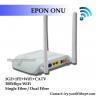 Buy cheap FTTH GEPON CATV 1GE 1FE WIFI CATV ONU EPON 2LAN CATV WFI ONU EPON RF from wholesalers