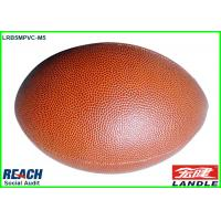 Wholesale Customised Brown PVC Official Rugby Ball Size 5 for Match , 2015 Newest Design from china suppliers