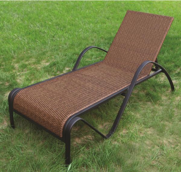garden treasures outdoor furniture rattan sun lounger RMS R of item