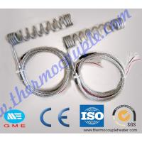 Wholesale 4.0 x2.0mm  Hot Runner Coil Heaters With K Type Thermocouple from china suppliers
