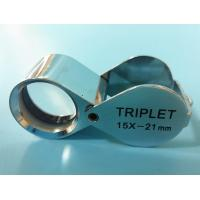 Wholesale Folding Glass Jewelry Loupe with Magnification of 15X and Triplet Lens from china suppliers