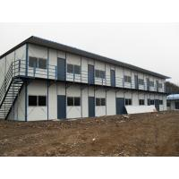 Quality Pre Built Prefab Steel Houses , Solid Fabricated Multi Storey Steel Buildings for sale