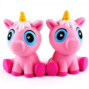 Buy cheap 12cm Squishy Unicorn Toys Jumbo PU Unicorn Animal Squishy Slow Rising Toys from wholesalers