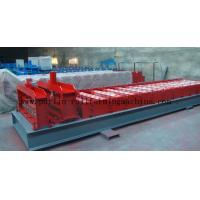 Wholesale Glazed Tile Roll Forming Machine , Zinc Roofing Sheet Tile Making Machine China Glazed Tile from china suppliers
