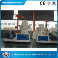 90 KW Ring Die Pellet Machine 6mm/8mm , CE Approved Ring Die Pellet Mill
