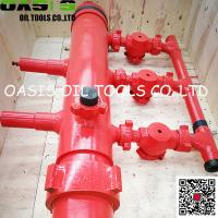 "Wholesale 13 3/8"" Single Plug Double Plug Cementing Head with Manifold from china suppliers"