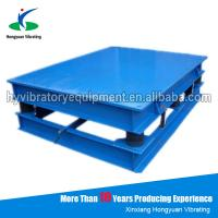 Wholesale Vibration table for concrete moulds / electronic vibration platform from china suppliers