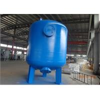 Wholesale Multi media filter by CS carbon steel pressure tank with rubber liner 72 TPH from china suppliers
