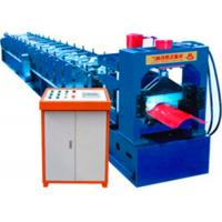 Wholesale Steel Roofing Tile / Ridge Tile Roll Forming Machine With PLC Control System from china suppliers