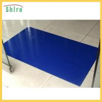 Quality Dust Free Workshop Use Clean Room Sticky Mat With Adhesived PE Film Backing for sale
