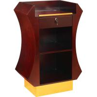 Wholesale Podiums with Drawer- Lectern Podium from china suppliers