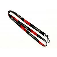 Wholesale Black J Hook Dye Sublimation Lanyards 10mm Wide For Camping Trade Show Exhibition Event from china suppliers