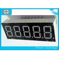 Wholesale White 0.56 Inch 5 Digit 7 Segment Led Digital Display High Brightness , Long Life from china suppliers