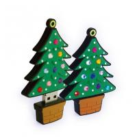 Wholesale Promotional Christmas Gifts USB Flash Drives 521MB 1GB 2GB 4GB 8GB from china suppliers