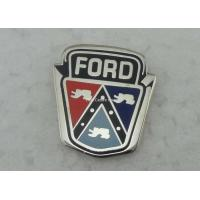 Wholesale Die Stamped Hard Enamel Pin Ford Badges , Custom Trading Pins from china suppliers