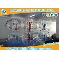 Wholesale Clear inflatable body bumper ball Human Bubble Soccer , Bubble Football from china suppliers
