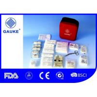 Wholesale Irregular Shape Travel Medical Kit , Eco Friendly First Aid Refill Kits For Paramedic from china suppliers