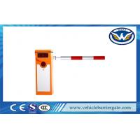 Quality IP54 Traffic Barrier Gate Security Boom Gate For Underground Parking Lot for sale