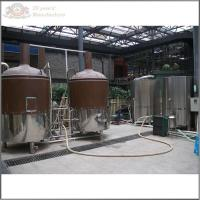 Wholesale 500L red copper beer brewery equipment for craft beer from china suppliers