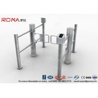 Buy cheap Double Core Biometric Pedestrian Security Gates Stainless Steel With Access Control from wholesalers