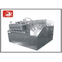 Wholesale Hydraulic automatic type large capacity High Pressure Homogenizer 20000 L/H 200 KW from china suppliers