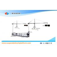 Wholesale ZLP1000 8 - 10 m / min Safe Suspended Woking Platform For Building Construction And Maintenance from china suppliers
