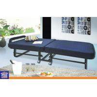 Wholesale Nylon Home Hotel Portable Folding Bed With Mattress Wheels 24.5KGS from china suppliers
