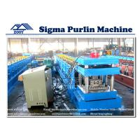 Wholesale Sigma Purlin Roll Forming Machine With Post-Cutting and Post-Punching from china suppliers