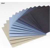 Wholesale Sticky Adhesive Backed Sandpaper , Aluminium Oxide Hook And Loop Sandpaper 26 * 38cm from china suppliers
