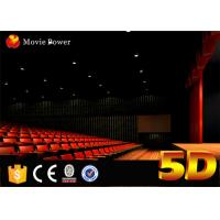Wholesale Large Curved Screen 4D Movie Theater 2-200 Seats Emotional and Special Effects from china suppliers