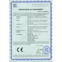 Shenzhen Xinhe Lighting Optoelectronics Co., Ltd. Certifications