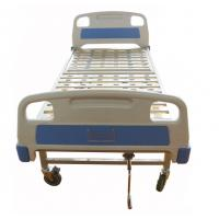 Quality Medical Equipment Bed Back Lift Simple One Crank ABS Manual Hospital Bed for sale