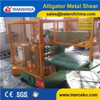 Wholesale 800mm blade length Q43-800 small Guarding hydrauic alligator shear to cut round and square bar from china suppliers