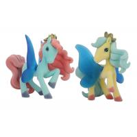 Quality Fashionable Plastic Kid My Little Pony Stuffed Toy With Winding Mane Yellow Body Color for sale