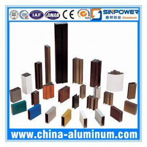 Wholesale AA6063-T5 Powder Coating Aluminium Window Profiles (Alu Profile) from china suppliers